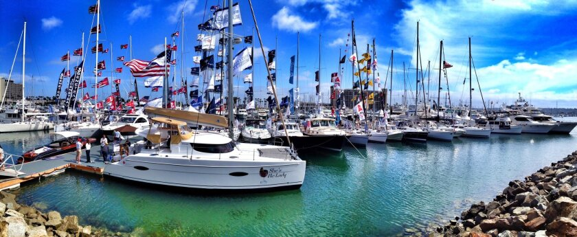 The San Diego International Boat Show, featuring more than 150 vessels, will be held starting Thursday at Spanish Landing Park East.