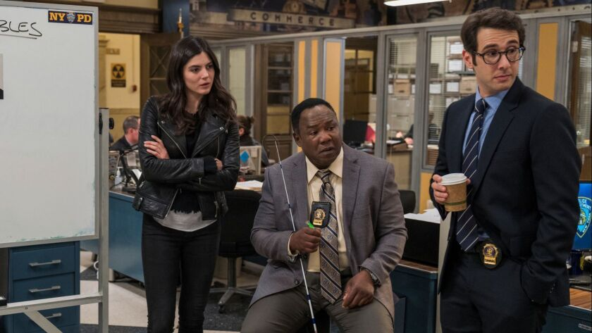 "Netflix's ""The Good Cop"" stars Tony Danza as an ex-cop just out of prison who lives with his painfully honest detective son, played by Josh Groban. The dramedy, out Friday, also stars Monica Barbaro and Isiah Whitlock Jr."