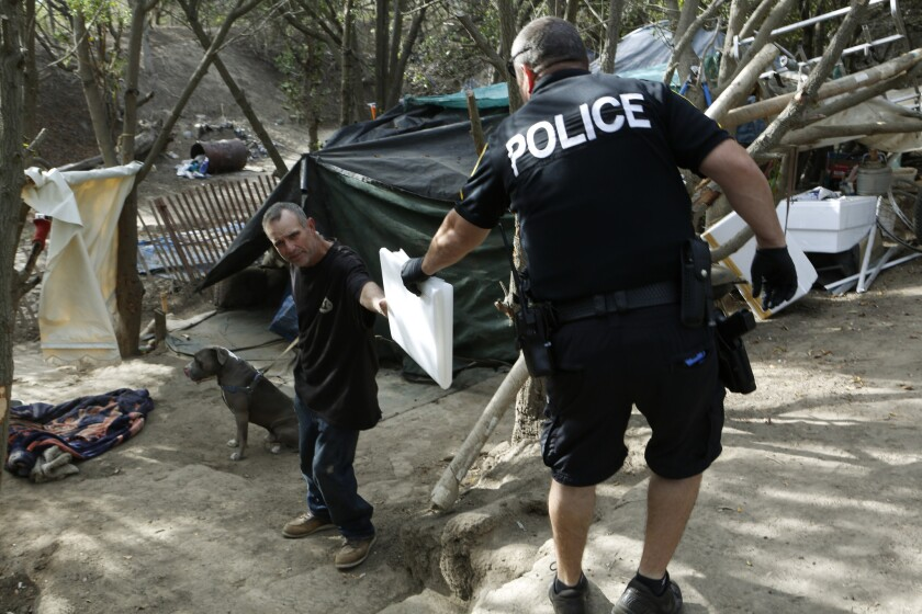 Oxnard homeless camp