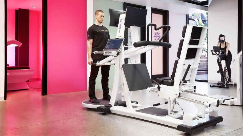 High-tech machines are intended to supercharge a workout.