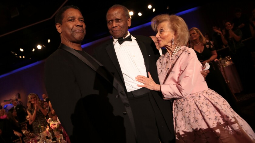 Star-studded Carousel of Hope Ball honors Sidney Poitier