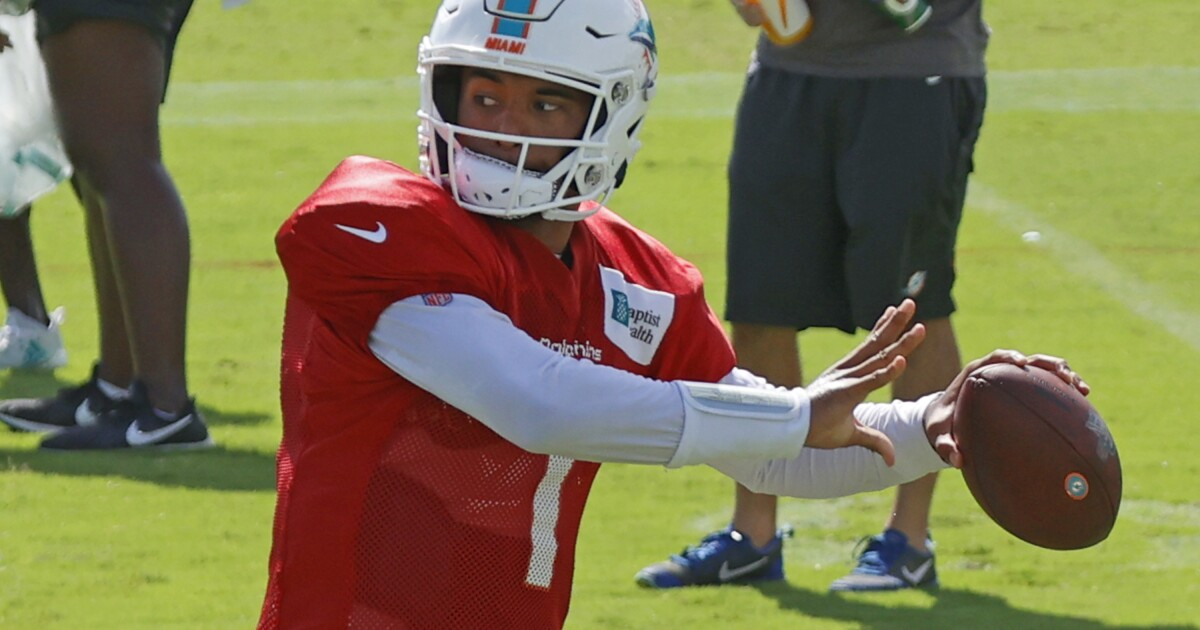 Kurt Warner lived what Dolphins are looking to start with Tua Tagovailoa against Rams