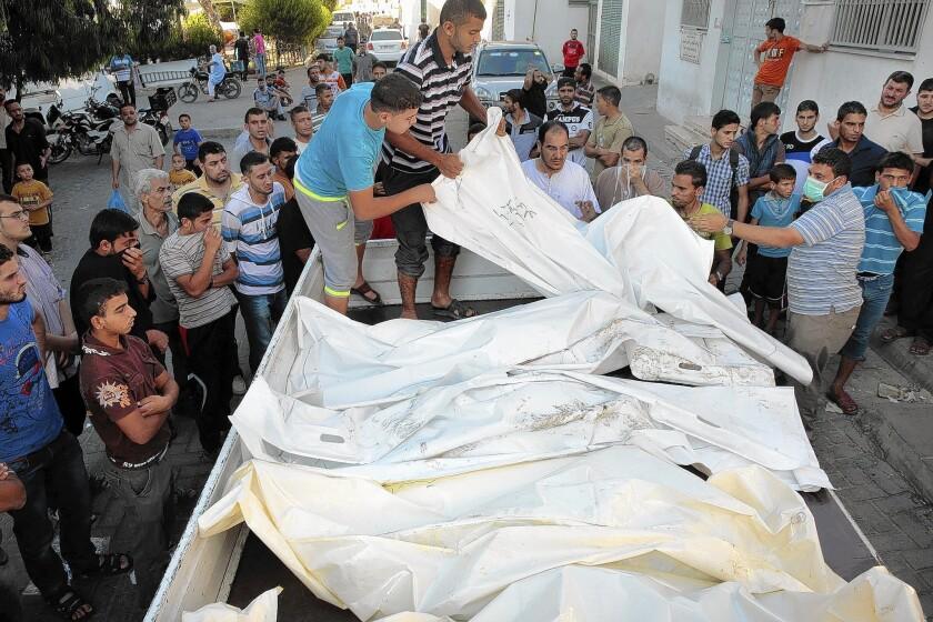 Gaza family killed