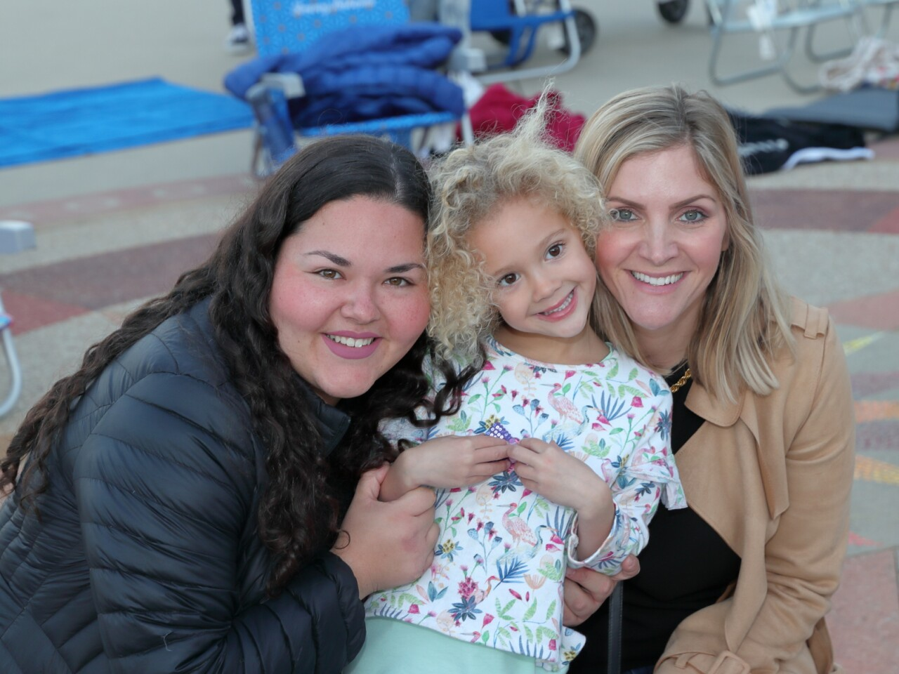 Regina, Vivian, and Lindsay Mateo