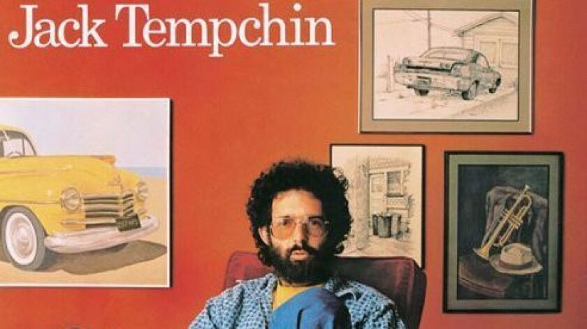 Jack Tempchin on the cover of his self-titled 1978 solo debut album.