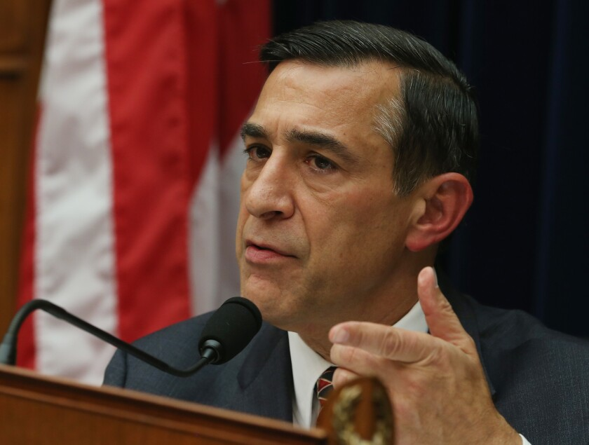 Darrell Issa (R-CA) speaks during a House Oversight and Government Reform October 24, 2014 in Washington, D.C. (Photo by Mark Wilson/Getty Images)