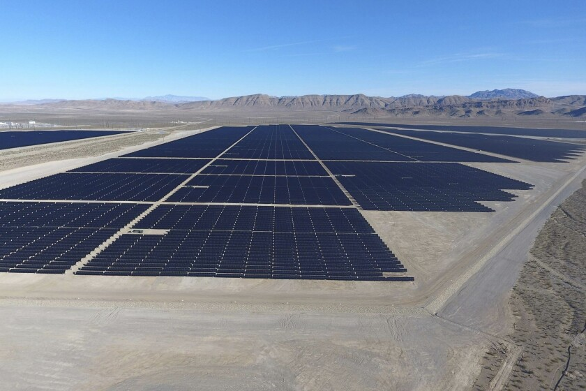 Switch Solar project outside Las Vegas
