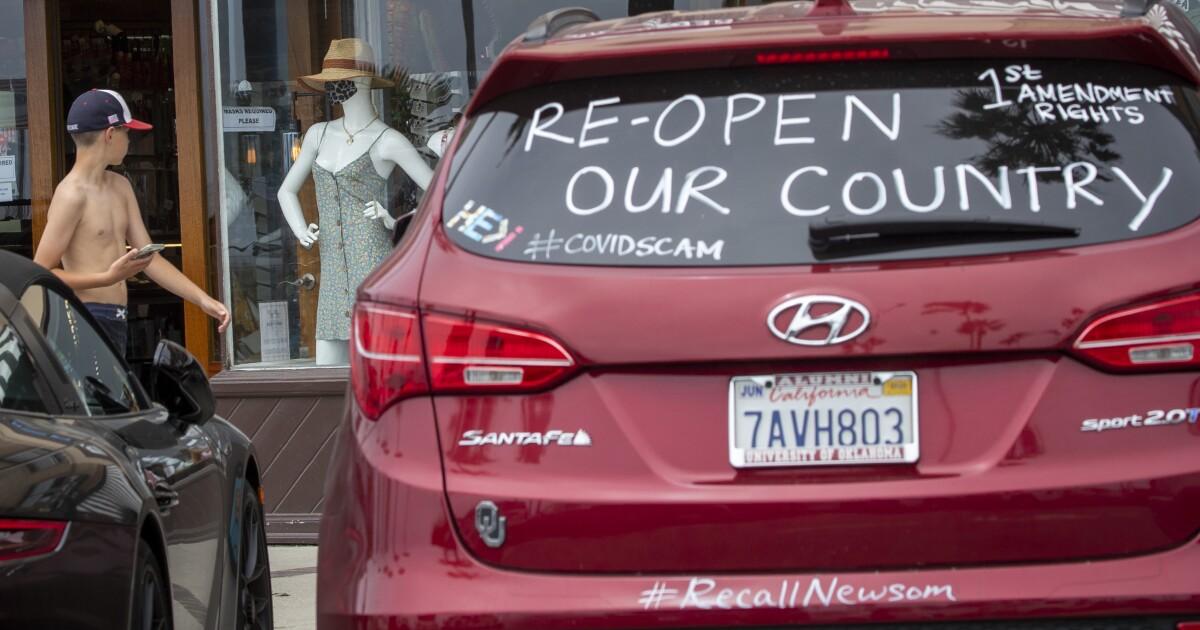 Coronavirus deniers' new rallying cry: Orange County schools