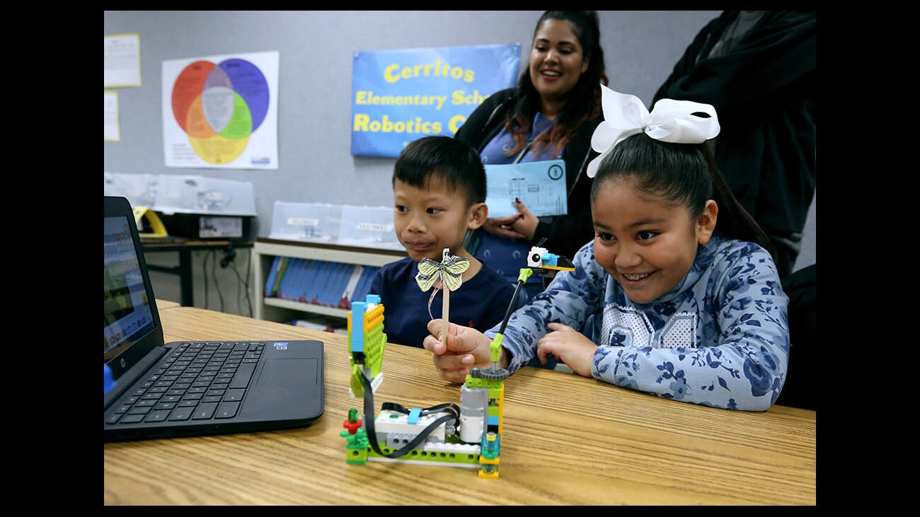 Photo Gallery: Code to the Future Epic Showcase at Cerritos Elementary School