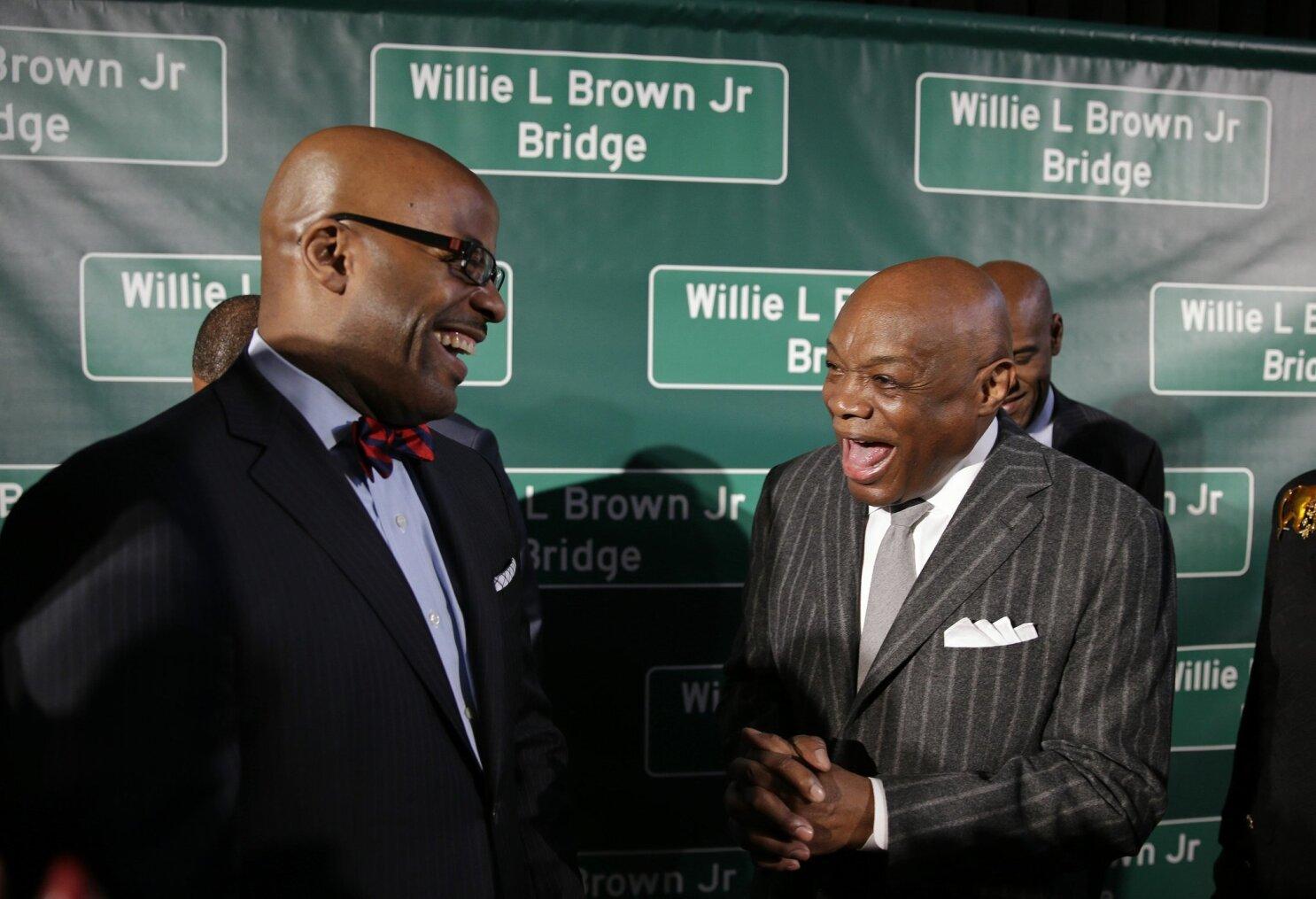 Bridge span takes name of former SF mayor Brown - The San Diego Union-Tribune