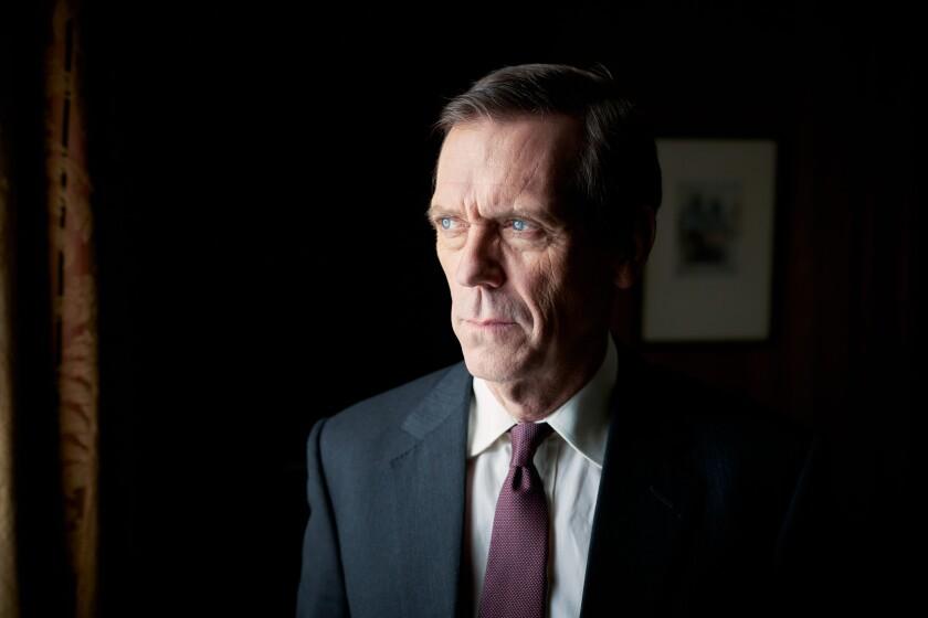 "Hugh Laurie in ""Roadkill"""