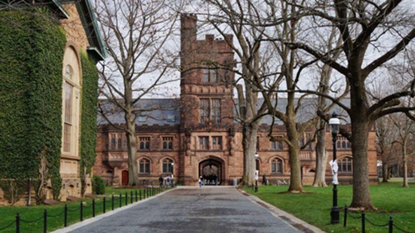 El campus de la Universidad de Princeton, en Princeton, Nueva Jersey, el 9 de febrero.
