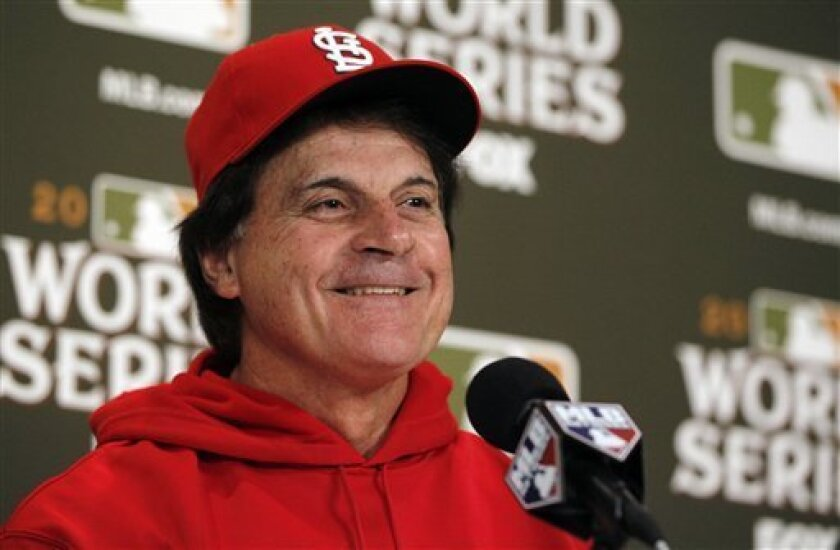 St. Louis Cardinals manager Tony La Russa retired following the 2011 World Series, but returned to the dugout to manage the NL in the 2012 All-Star Game. (AP Photo/Jeff Roberson)