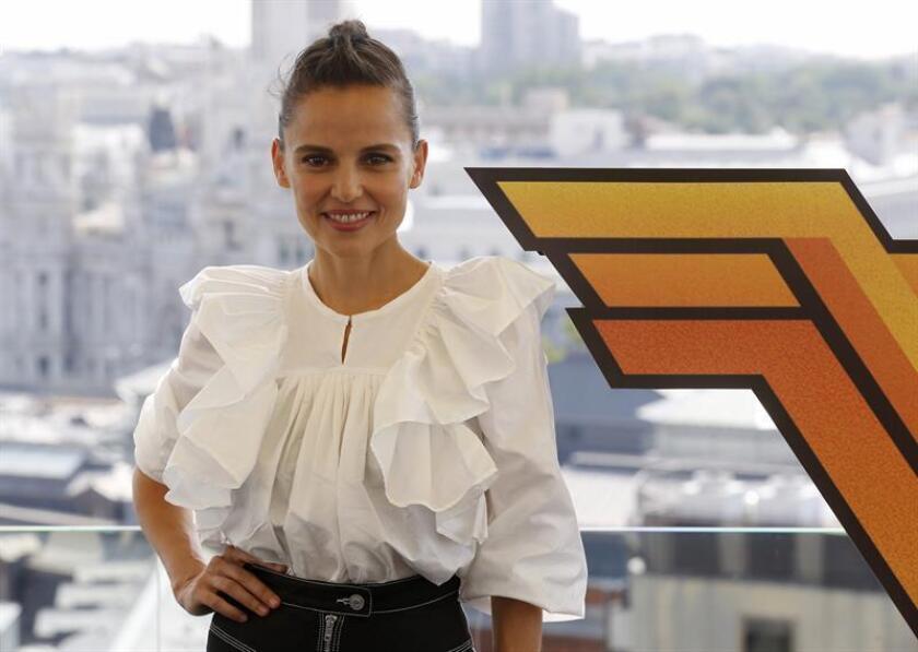La actriz española Elena Anaya posa tras una entrevista para Efe. EFE/Archivo