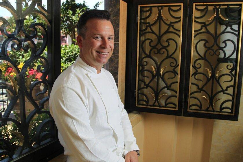 Addison executive chef William Bradley is also culinary director at Bijou French Bistro in La Jolla.