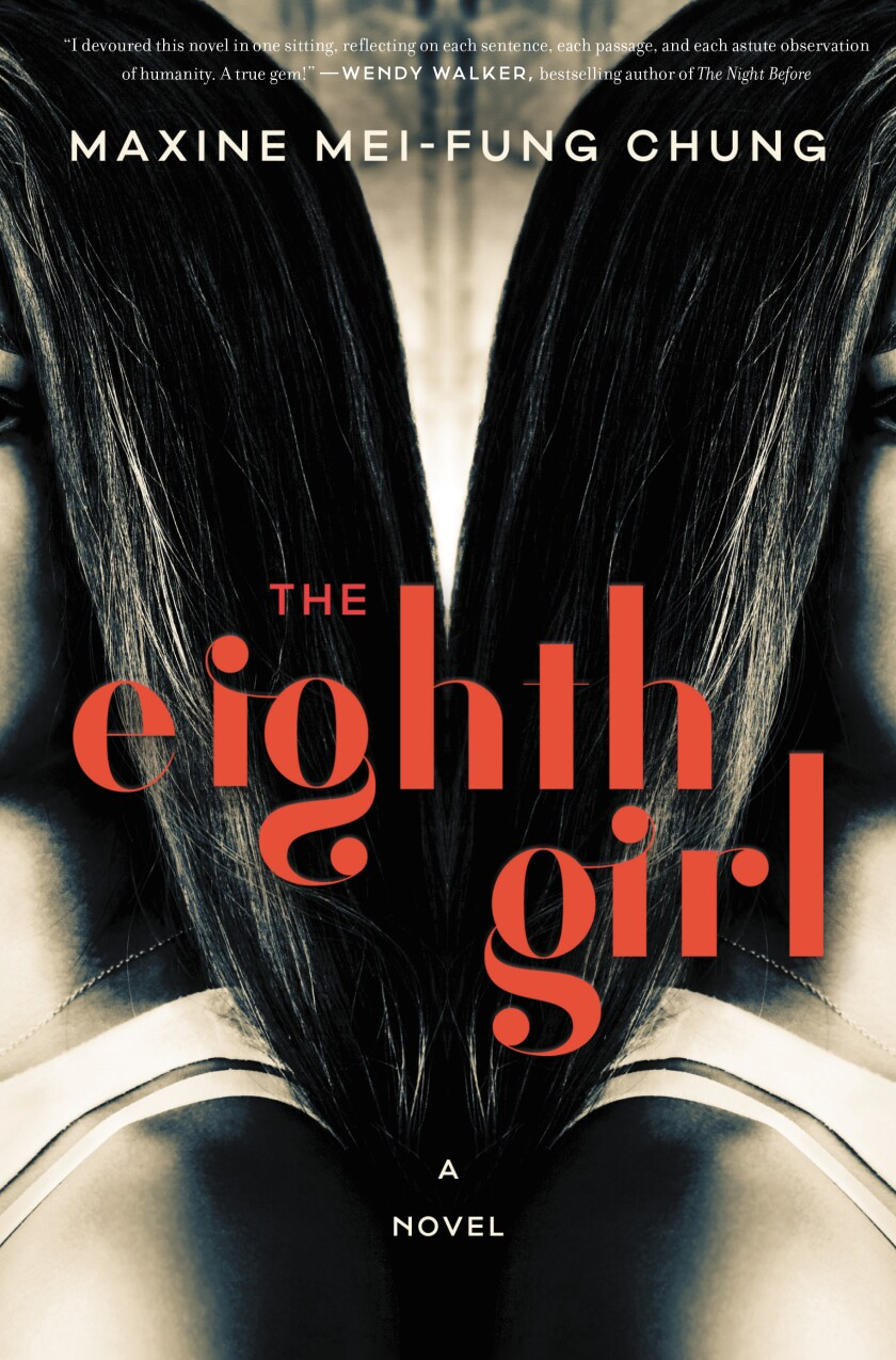 "A book jacket for Maxine Mei-Fung Chung's book ""The Eighth Girl."""