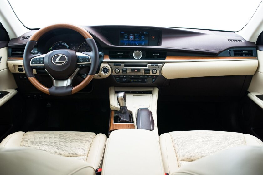"""While Lexus hit the exterior with its """"bold"""" bludgeon, the interior is more mainstream but quite functional."""
