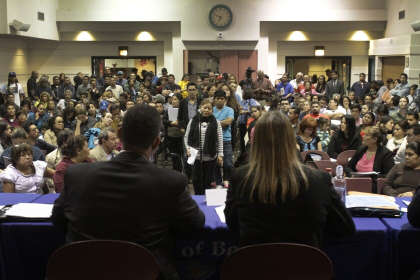 Meeting on driver's licenses for immigrants