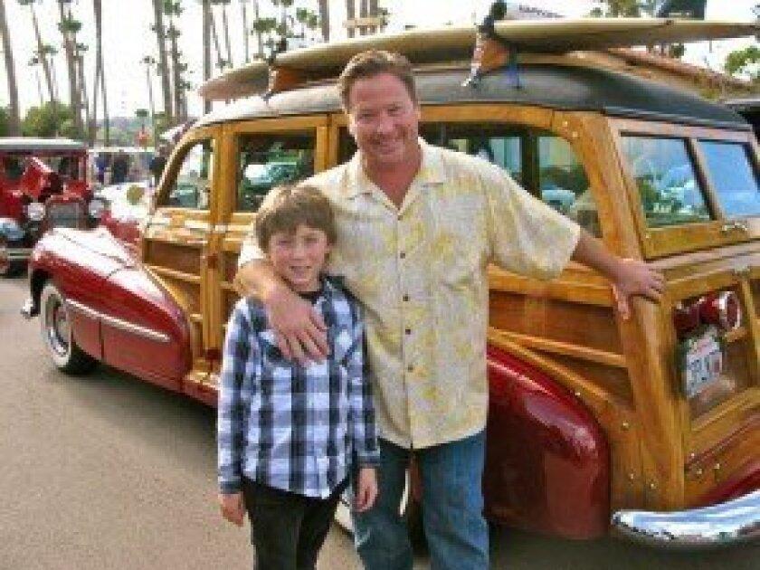 Dolce Pane e Vino General Manager Steve Flowers and his son Gavin.