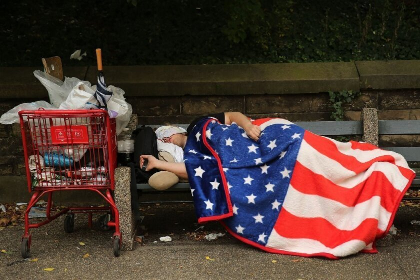 Poverty rates, median income unchanged in 2012, despite recovery