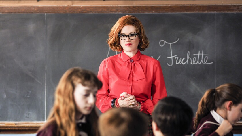 """Molly Ringwald in the TV movie """"Wishin' and Hopin'"""" on Lifetime."""