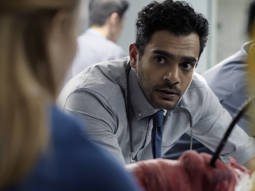 "Hamza Haq stars in ""Transplant,"" a unique medical drama airing on NBC."