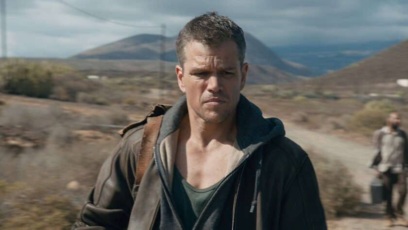 "Matt Damon stars in a scene from ""Jason Bourne."""