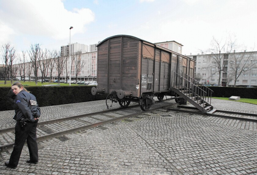 Drancy, France, to Nazi concentration camps