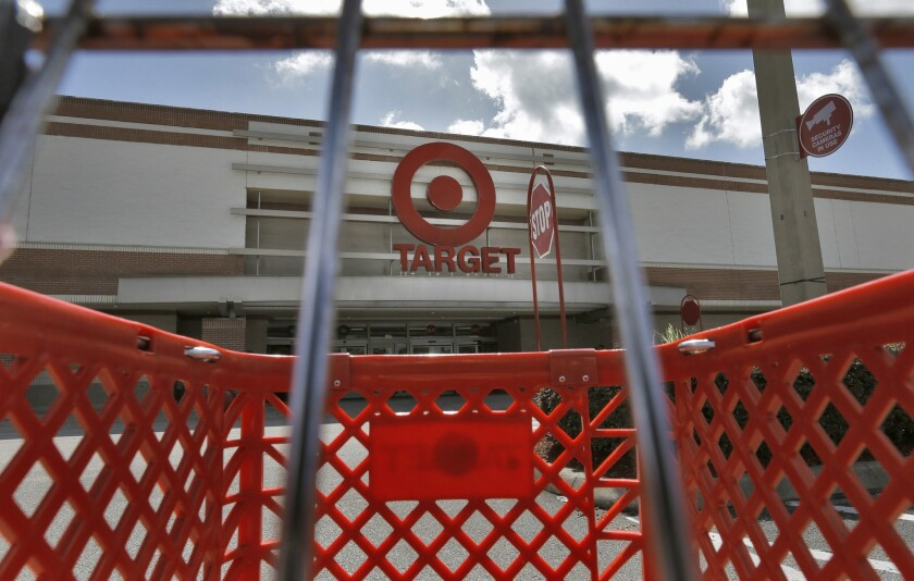 Target Corp. stock hit a record high on Wednesday.