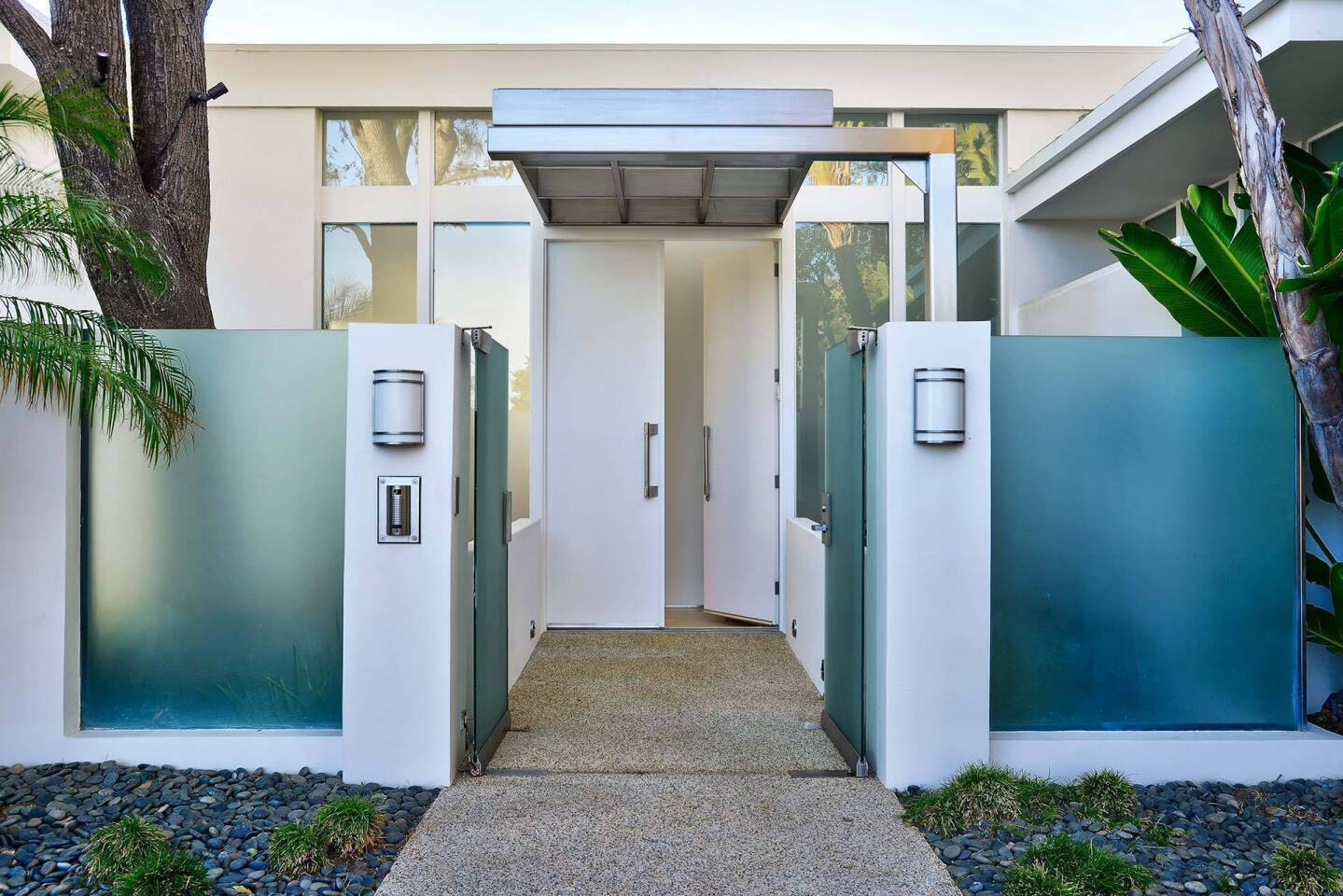 Doors that swing open in style
