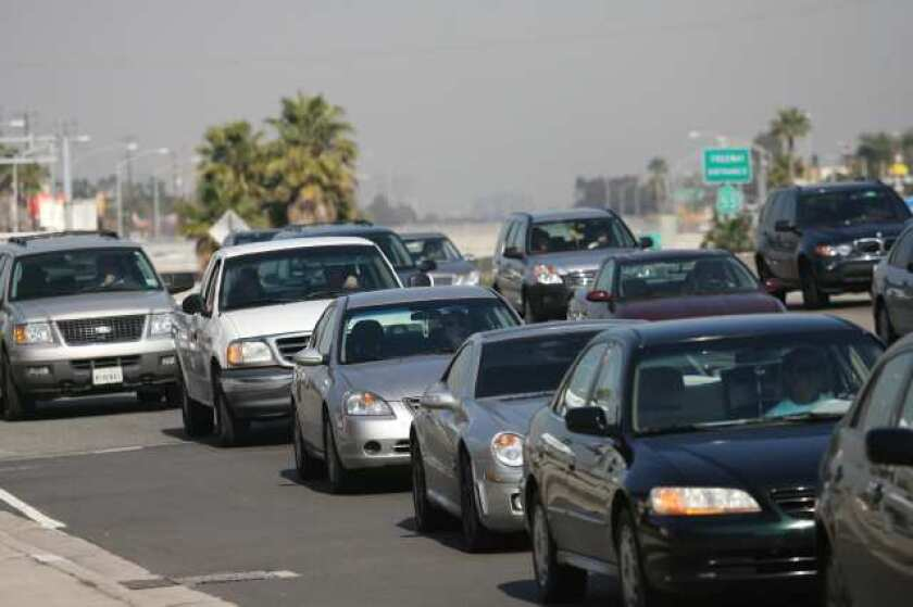 Expect more traffic on the 55 Freeway if you plan to go to John Wayne Airport this weekend.