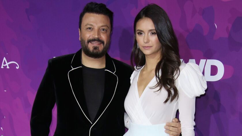 Zuhair Murad and Nina Dobrev