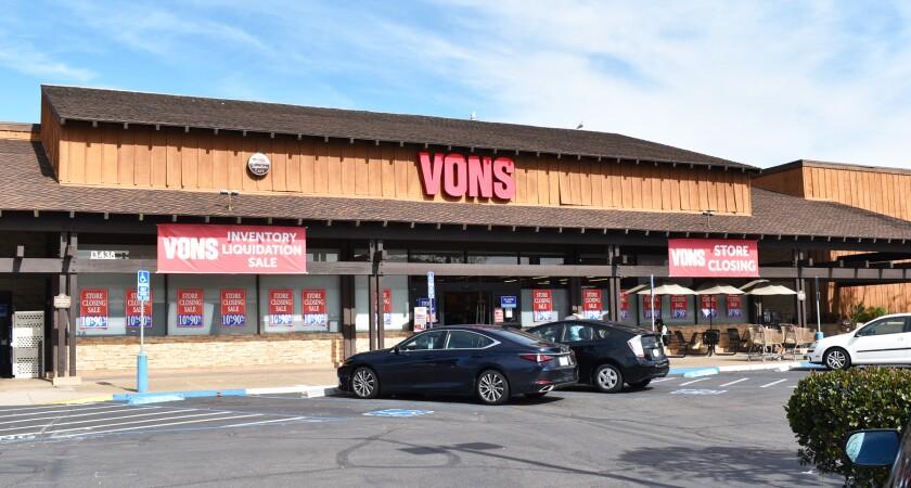 The Poway Vons store