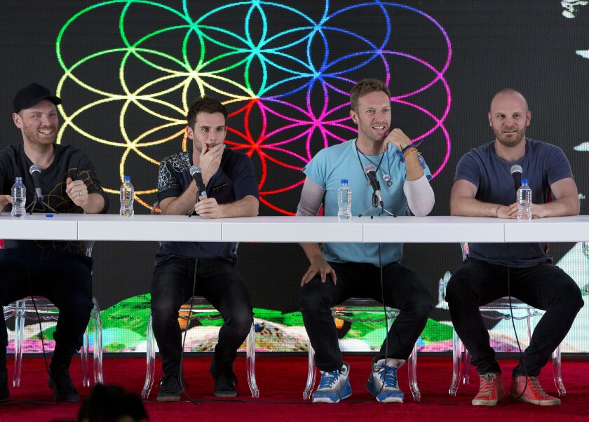 Coldplay Not Touring