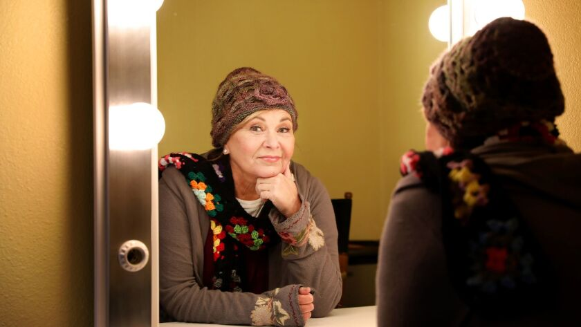 Roseanne Barr is photographed in El Segundo in March.