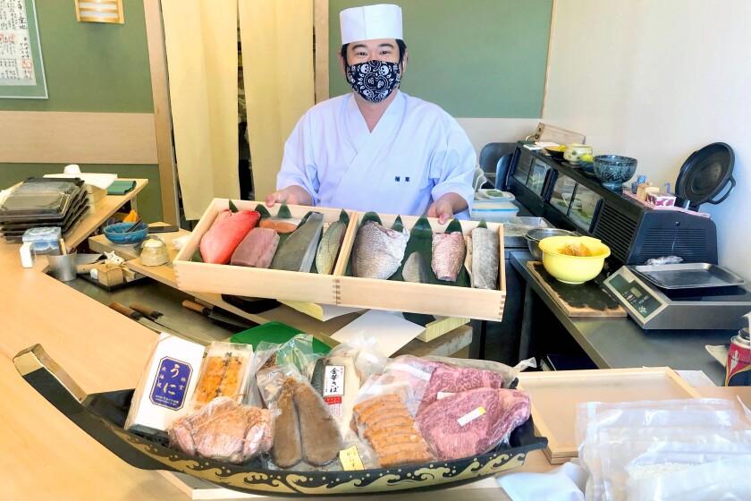 Yasuhiro Hirano at Sushi I-Naba
