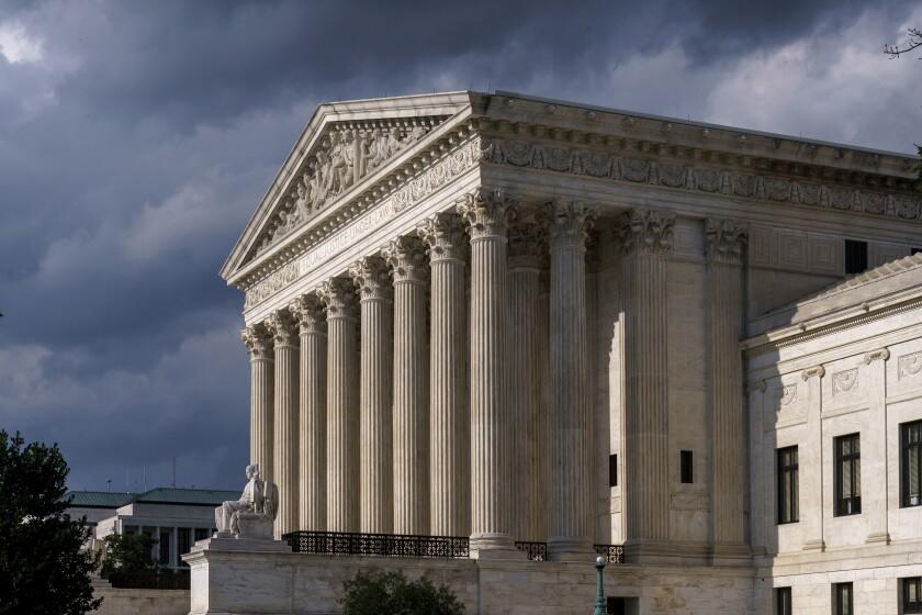 FILE - This June 8, 2021 photo shows the Supreme Court in Washington. (AP Photo/J. Scott Applewhite, File)