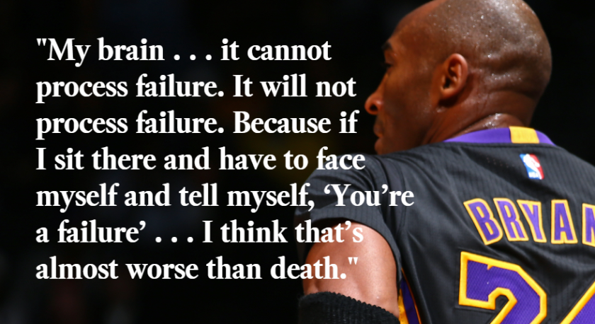 Kobe Bryant Here Are Some Of His Most Memorable Quotes Los Angeles Times
