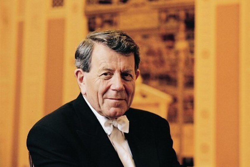 Conductor Raymond Leppard