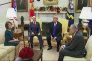 Trump, Pelosi and Schumer spar over border wall funding