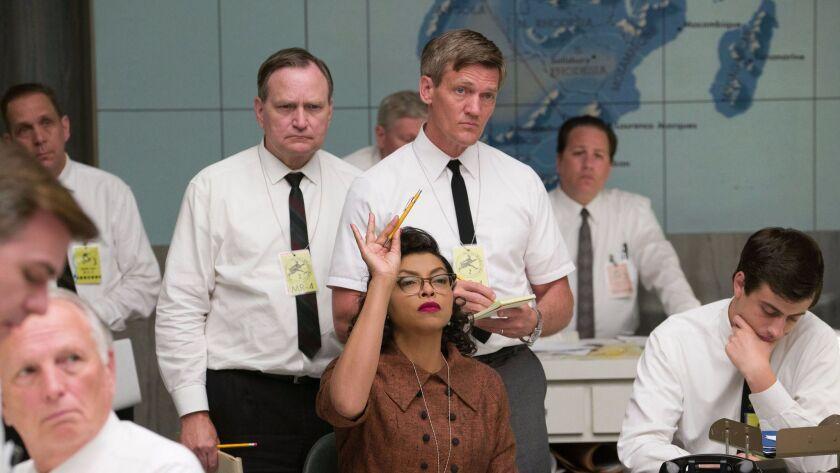"Taraji P. Henson as Katherine G. Johnson makes one of many key contributions to the effort to send John Glenn into orbit in ""Hidden Figures."""