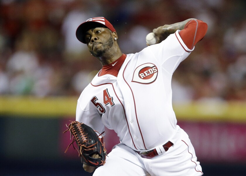 Domestic violence allegations threaten to derail proposed trade of Aroldis Chapman to Dodgers