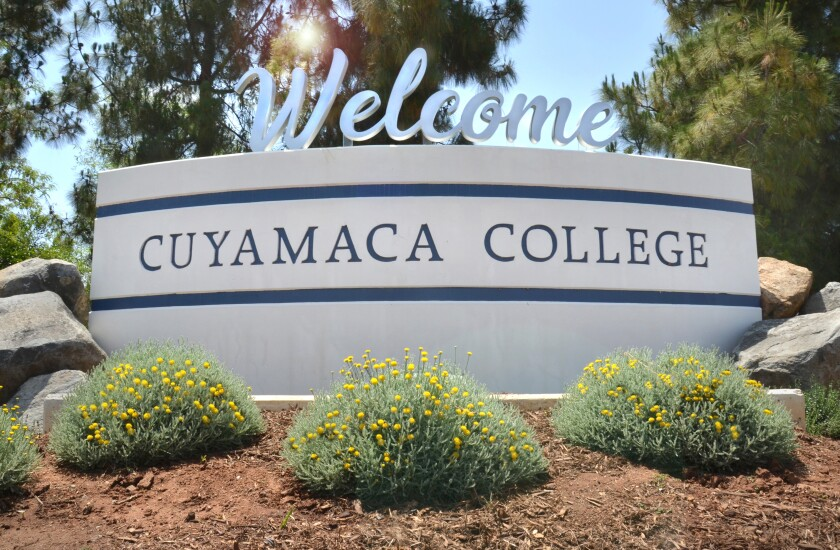 Cuyamaca College and its sister school Grossmont College have gotten top marks in accreditation.