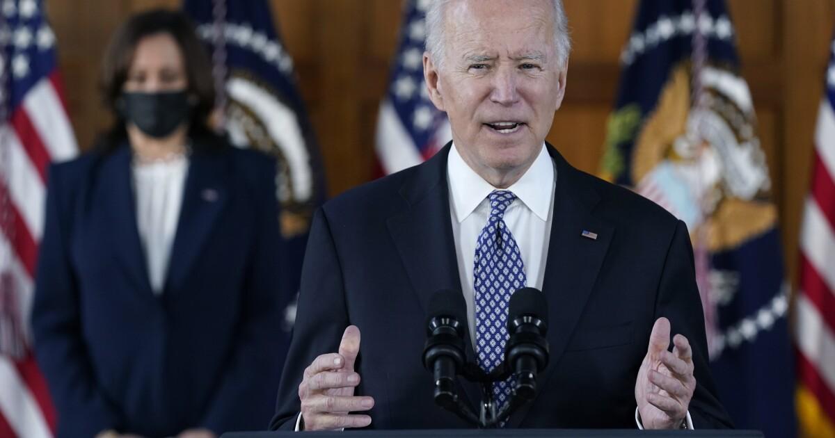 www.sandiegouniontribune.com: 'Speak out:' Biden, Harris decry racism during Atlanta visit