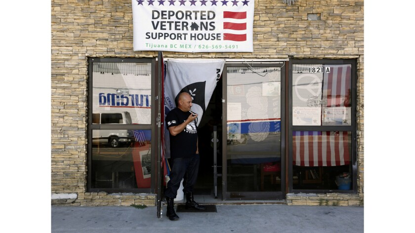 Hector Barajas, 40, director and founder of the Deported Veterans Support House.