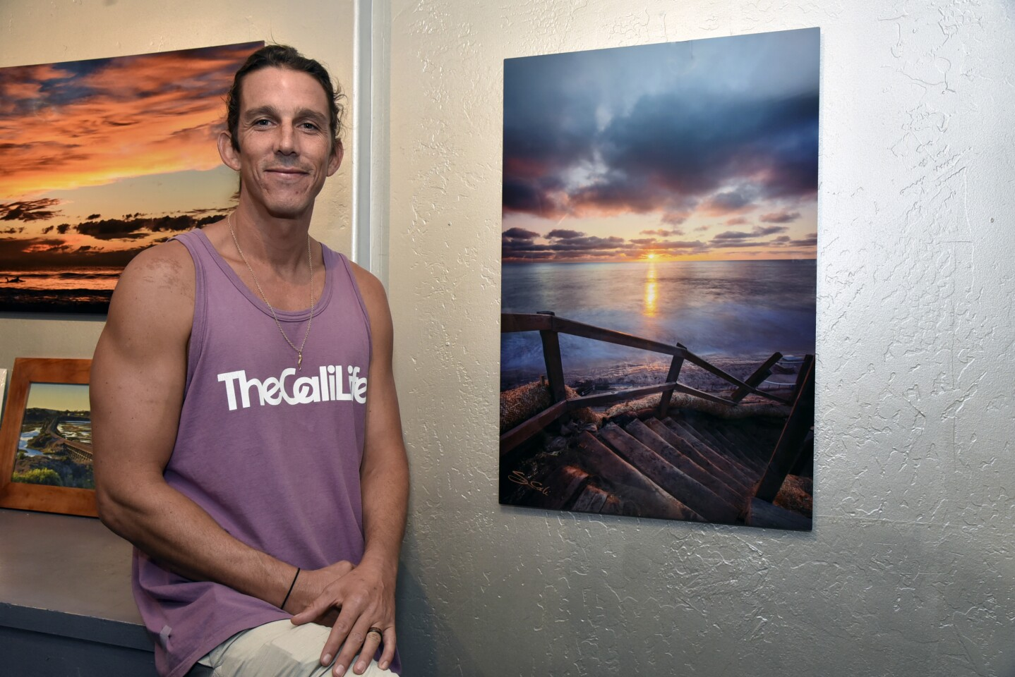 Greg Cali (Owner/Photographer of The CaliLife Gallery & Photography Studio) lost years of his art work in the fire (www.theCaliLife.com)