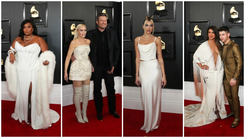 White was on trend at the 2020 Grammy Awards