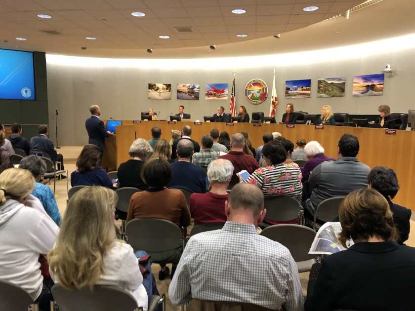 The meeting lasted well after midnight and more than 100 public speakers weighed in, a figure that might be a record for Encinitas.