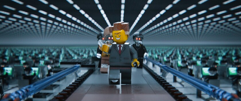 A scene from 'The Lego Movie.'