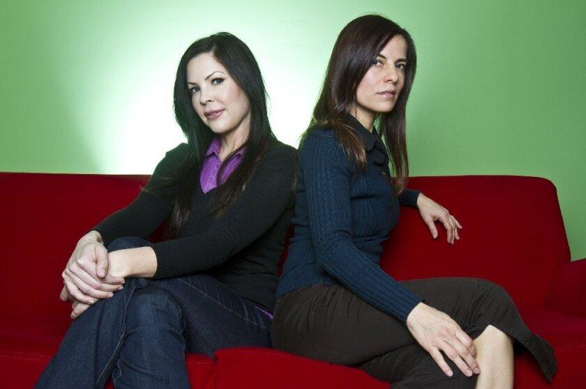 Christa Campbell and Lati Grobman